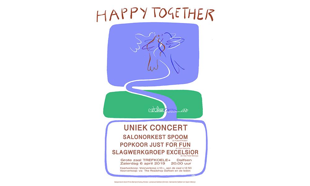 Mis het niet: uniek concert in Dalfsen | 6 april | 20.00 uur | Trefkoele+